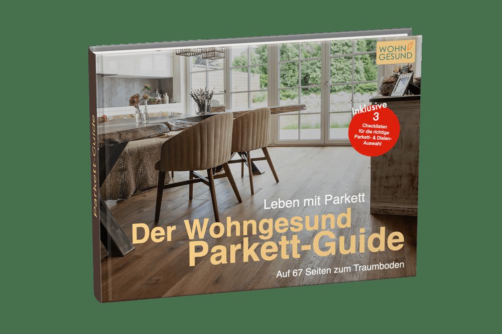 Wohngesund Parkett Guide gratis herunterladen