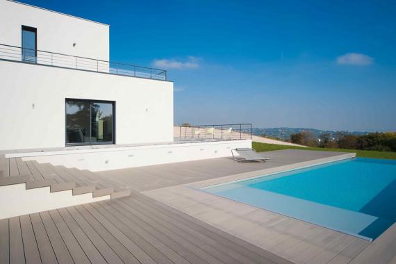 WOHNDECK® WPC Terrasse Basalt PREMIUM