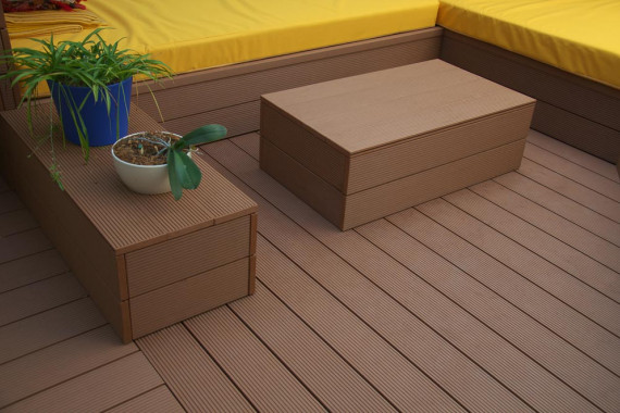 WOHNDECK® WPC Terrasse Cotto TOP