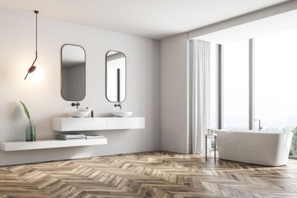 Holz im Badezimmer: Wohlfühlfaktor pur
