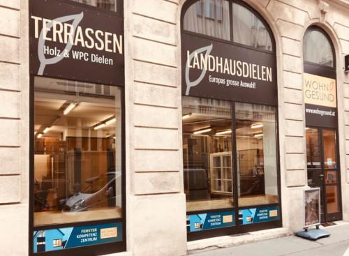 WOHNGESUND Wien Weyrgasse Filiale & Schauraum